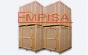 Contenedores de madera para guardamuebles  Empisa ...