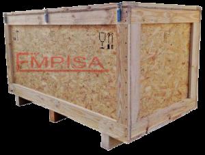 Embalaje de madera en OSB.