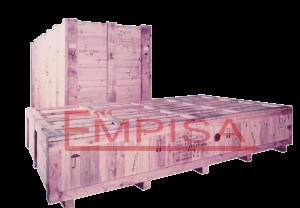 Embalaje de madera para exportación.