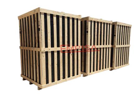 jaula de embalaje de madera